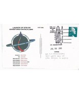 LAUNCH OF DISCOVERY STS-114 HOUSTON TEXAS JULY 26 2005 POSTCARD - €1,78 EUR