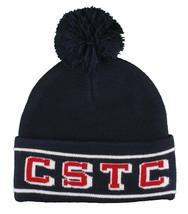 Crooks & Castles Tricot Cstc Ne Peut Pas Stop The Savants Pompon Bonnet Ski Nwt