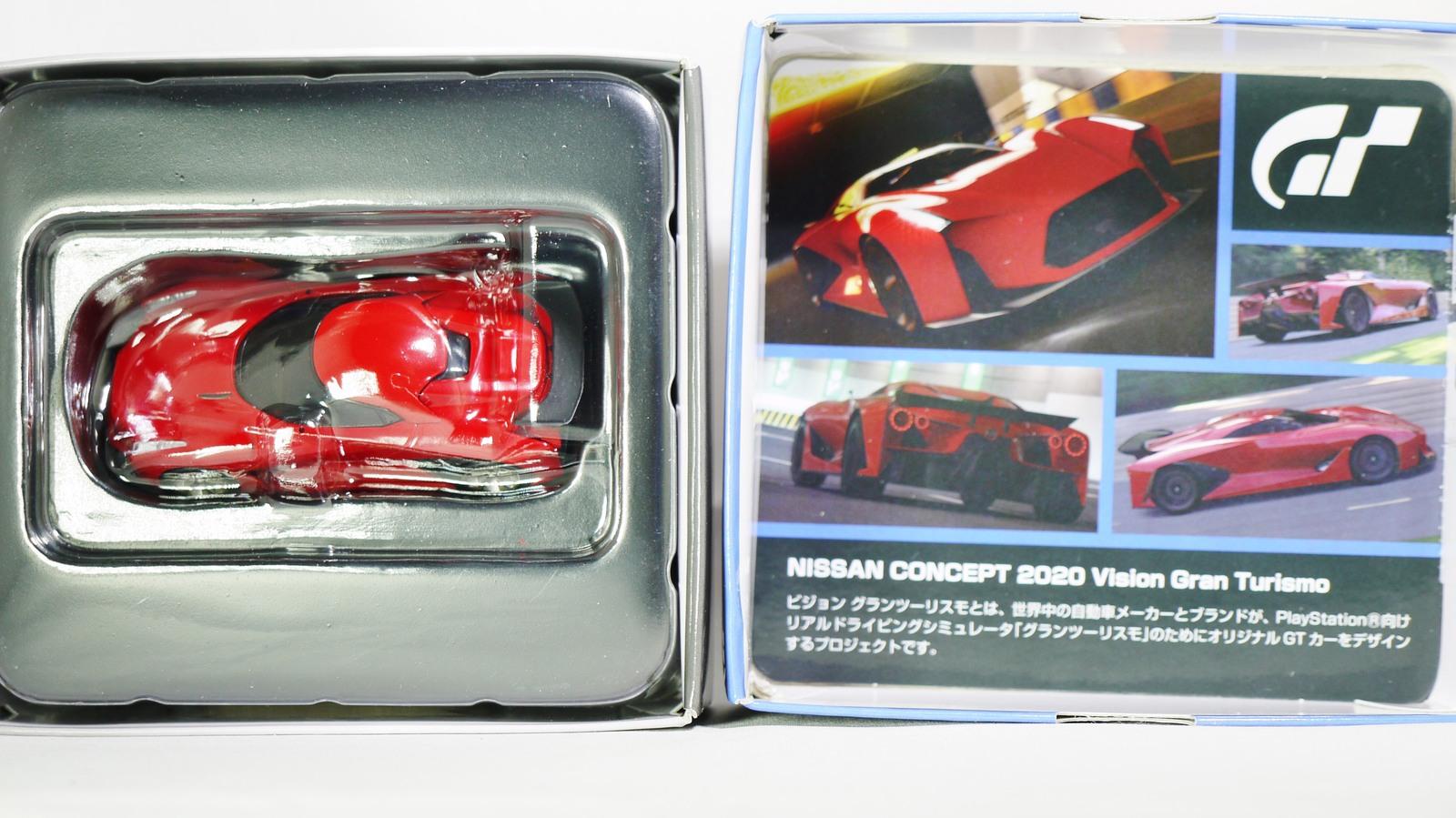 TOMICA TOMYTEC VINTAGE NEO GT NISSAN CONCEPT 2020 Vision Gran Turismo Red