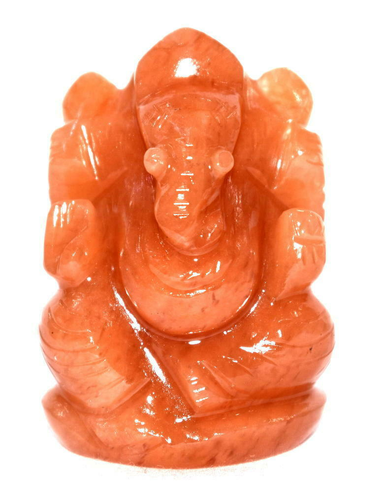 Primary image for Ganesha In Red Jade – 65 gms