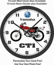 1969-1970 YAMAHA CT1 175 MOTORCYCLE WALL CLOCK-FREE USA SHIP! - $28.70+