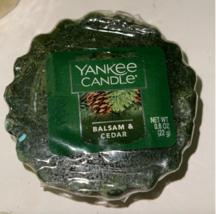 Yankee Candle Set of 6 Christmas Cookie Wax Melt Tarts Balsam Cedar Voti... - $13.99