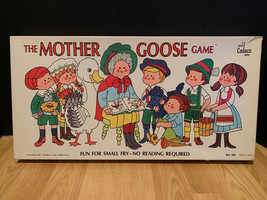 """Adorable Htf Vtg 1971""""THE Mother Goose"""" Game Edition Board Game Complete - $24.74"""