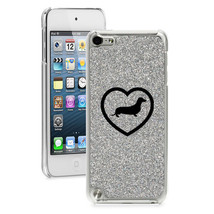 For Apple iPod Touch 4th 5th 6th Glitter Bling Hard Case Cover Dachshund... - $14.99