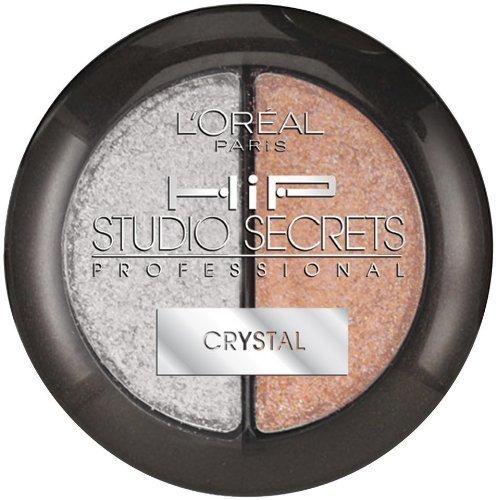 L'Oreal Paris Hip Studio Secrets Professional Crystal Shadow Duos, Romantic, 0.0 - $8.60