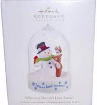 Hallmark Keepsake Ornament  Who-o-o Doesn't Love Snow!  2012 CLUB EXCLUS... - $9.99