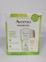 Aveeno Positively Radiant Daily Scrub & Moisturizer Radiance Set EXP 09/... - $10.89
