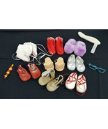 American Girl Doll Accessories Shoes Boots Moccasins Slippers Glasses 19... - $44.99