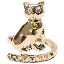 Set Of 3 Cat Design Fingernail Ring Protecting Fingernail Ring Cute Nail Design