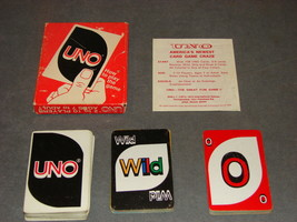 Uno Card Game [COMPLETE] 1973 - $12.00