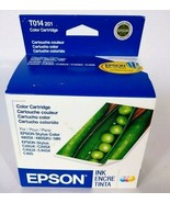Epson T014 201 Color Ink Cartridge Brand New Sealed Expired 03/2008 - $8.47