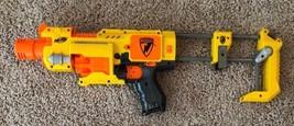 NERF N-Strike Barricade RV-10 Electric Soft Dart Gun w/ Stock Repair or ... - $9.79
