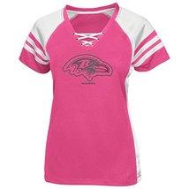 Baltimore Ravens Pink Draft Me VII Womens Jersey Shirt-Small - $54.45