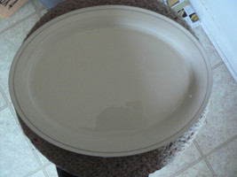 Lenox For the Grey Patterns 14 1/4 inch oval platter 1 available - $26.48