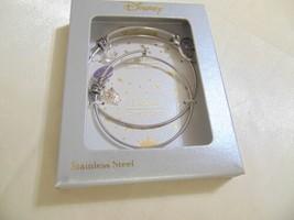 Disney 2-Pc. Set Mother and Child Princess Tiara Charm Bangle Bracelets F603 $75 - $43.20