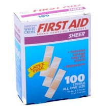 Bandage Junior Size Plastic 3/8 X 1 1/2 100/box - $8.73