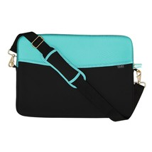 """Quip Brand Sm Padded Laptop Sleeve with Strap! QUIP Laptop case 13.5""""x10.25"""" NEW image 2"""