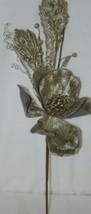 Regency International MTX44552 Sage Velvet Magnolia Acanthus Leaf Stem image 2