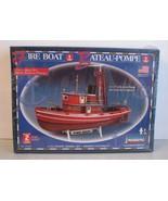 Lindberg Fire Boat Plastic Maritime Ship 77226 Sealed Model Kit 1/72 Sca... - $28.70