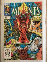 New Mutants #85 Marvel Comic Book from 1990 NM Liefeld / Todd McFarlane ... - $6.29