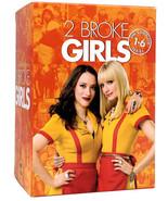 2 Broke Girls: The Complete Series (17-Disc DVD Box Set) Seasons 1 2 3 4... - $32.87