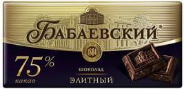 """Russian chocolate """"Babaevskiy"""" - $11.90+"""