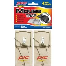 PIC MTW4INN Wood Mouse Traps, 4 pk - $18.03