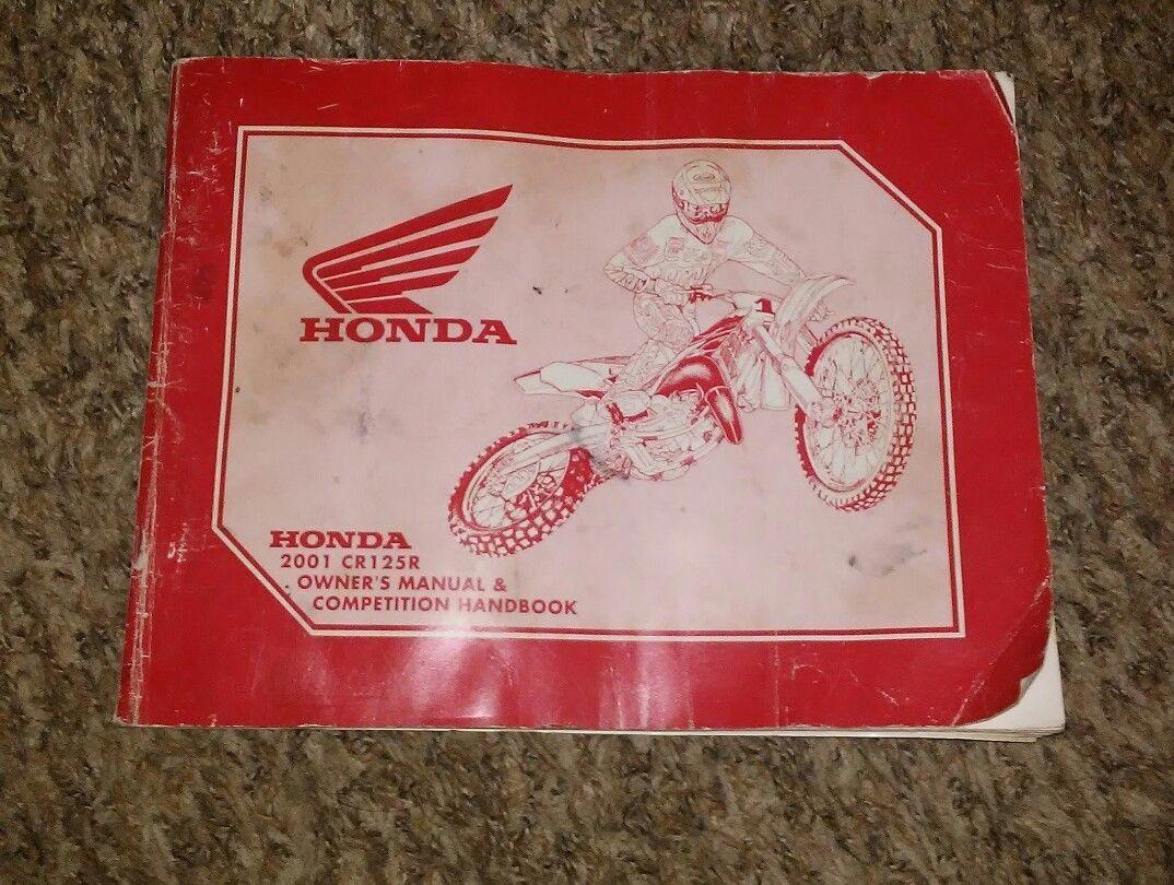 S l1600. S l1600. Honda CR125R Motorcycle Owners Manual & Competition  booklet 2001; Honda CR125R Motorcycle ...