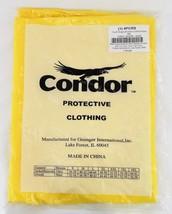CONDOR 4PCR5 Yellow Rain Bib Overalls, Size 4XL - $29.99