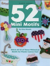 52 Mini Motifs Magnets Birthday, Baby, Holidays, Plastic Canvas Pattern NEW - $5.37