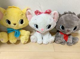 Disney Aristo cats Marie Berlioz Trues Big Plush Doll Set Large Size - $103.95