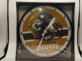 """Wincraft NFL Jacksonville Jaguars 12.75"""" Round Wall Clock Delivery 2-4 Days - $29.69"""