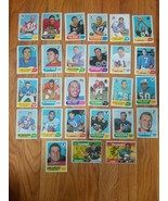 1970 Topps Lot of 27 Different Cards Cappelletti Jeter Nice Cards Crease... - $29.70