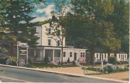 Boxwood Inn Pikesville Maryland MD Postcard Linen Colourpicture - $3.34