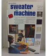 Bond incredible sweater machine, videos and accessories In original box - $99.99