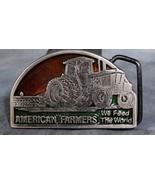 American Farmers Feed the World Belt Buckle - $5.00