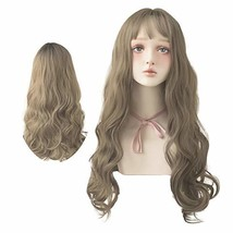 7JHH WIG Long Wavy Wig for Women, Curly Synthetic Wig Colorful Dyed Wigs... - $20.53