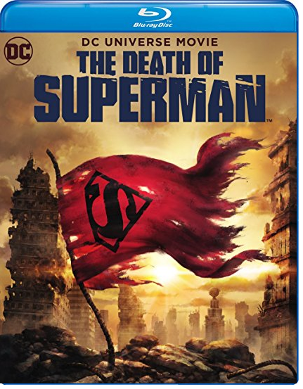 The Death of Superman (Blu-ray + DVD, 2018)