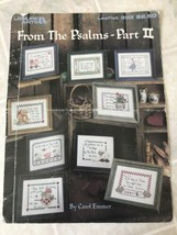 """From the Psalms"" Cross Stitch Chart - Nine Leisure Arts Religious Themes Part 2 - $9.49"