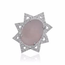 Wholesale pave diamond Ring 925 Sterling Silver Pave Diamond Jewelry - $146.52
