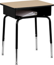 Offex Student Desk with Open Front Metal Book Box - €65,15 EUR