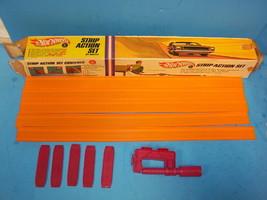 1960's Vintage Mattel Hot Wheels Red Line strip action 6278 Track Set - $39.99