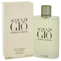 Giorgio Armani Acqua Di Gio 6.7 Oz Eau De Toilette Cologne Spray image 3