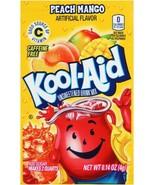 12 Packs of Kool Aid Peach Mango Flavor Drink Mix Packet Gluten - $13.85