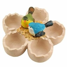 Resin Material Egg Shell Flower Succulent Pots With Bird Nest Home Garde... - €24,51 EUR