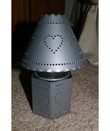 Home Interior Punched Metal CIJ Holder Shade Homco - $11.00