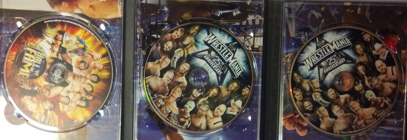 Wrestlemania 25th Anniversary - 3 DVD set