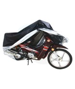 Weatherproof Motorcycle Bike Large Cover Protection Rain Dust UV Light - $24.54