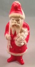 Vintage Christmas Irwin Celluloid Santa Claus Belsnickle 1940's 1930's 4... - $24.50