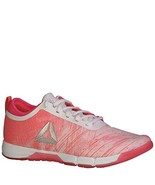 Reebok Womens Speed Her TR, Pale Pink/Acid Pink/Whiter/Silver, 6.5 BM US - $63.79